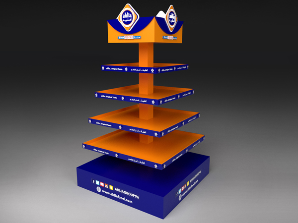 Pyramid stand Display